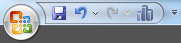Adicionando icone na barra de acesso rápido – Microsoft Excel