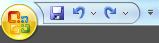 Ícones da barra de acesso rápido – Microsoft Excel