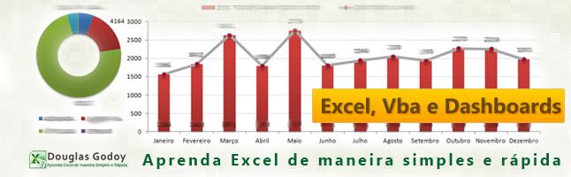 Banner criado que é utilizado atualmente no Grupo no Linkedin - Aprenda Excel, Vba e Dashboards