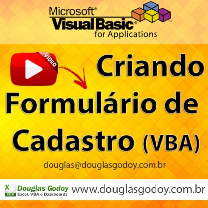 Aprenda a criar um formulário de cadastro com VBA