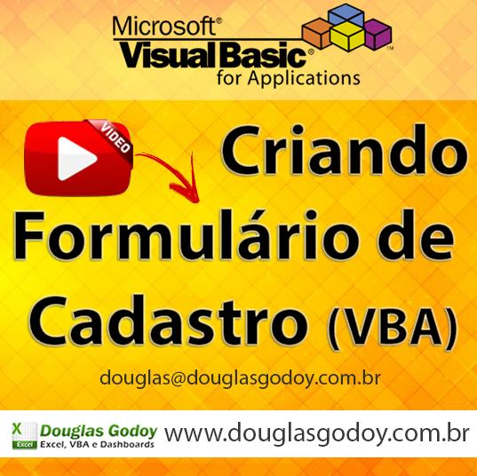 Excel VBA - Aprenda a criar um formulário de cadastro com VBA