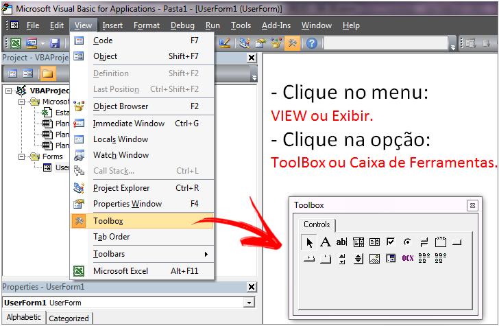 como-habilitar-a-janela-de-ferramentas-do-VBA